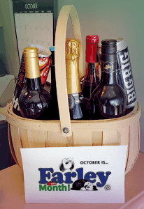 Farley Foundation raffle basket